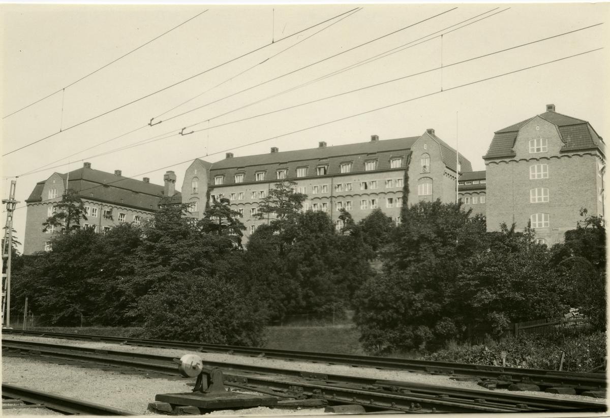Tomteboda. Statens Järnvägar, SJ. Kontrollkontoret, KK.