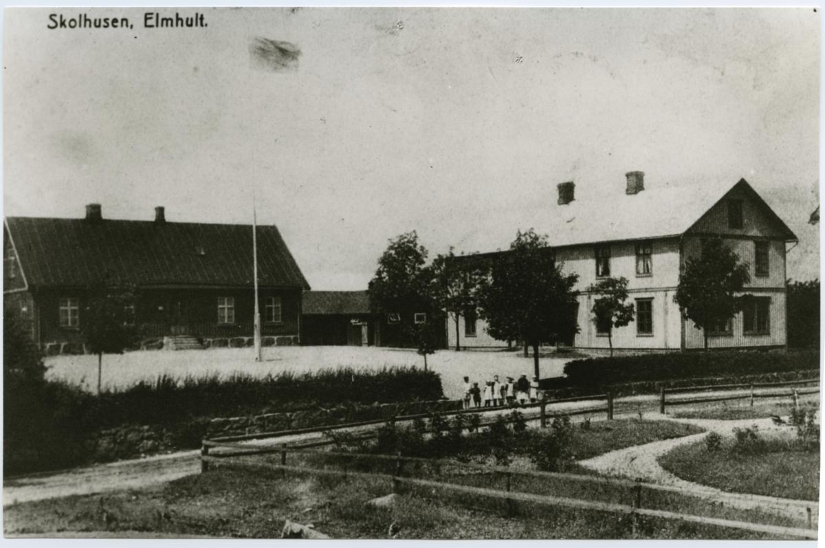 Skolhusen i Älmhult.