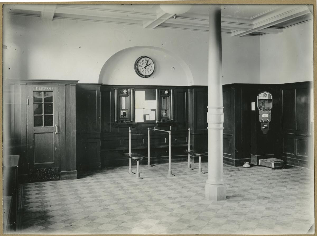 Ängelholms stationshus (interiör).