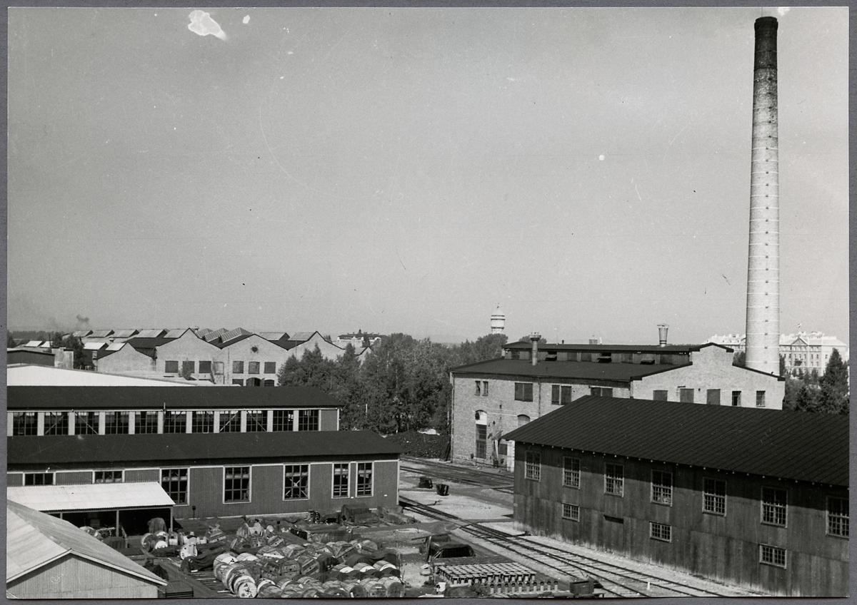 Örebro centralverkstad.