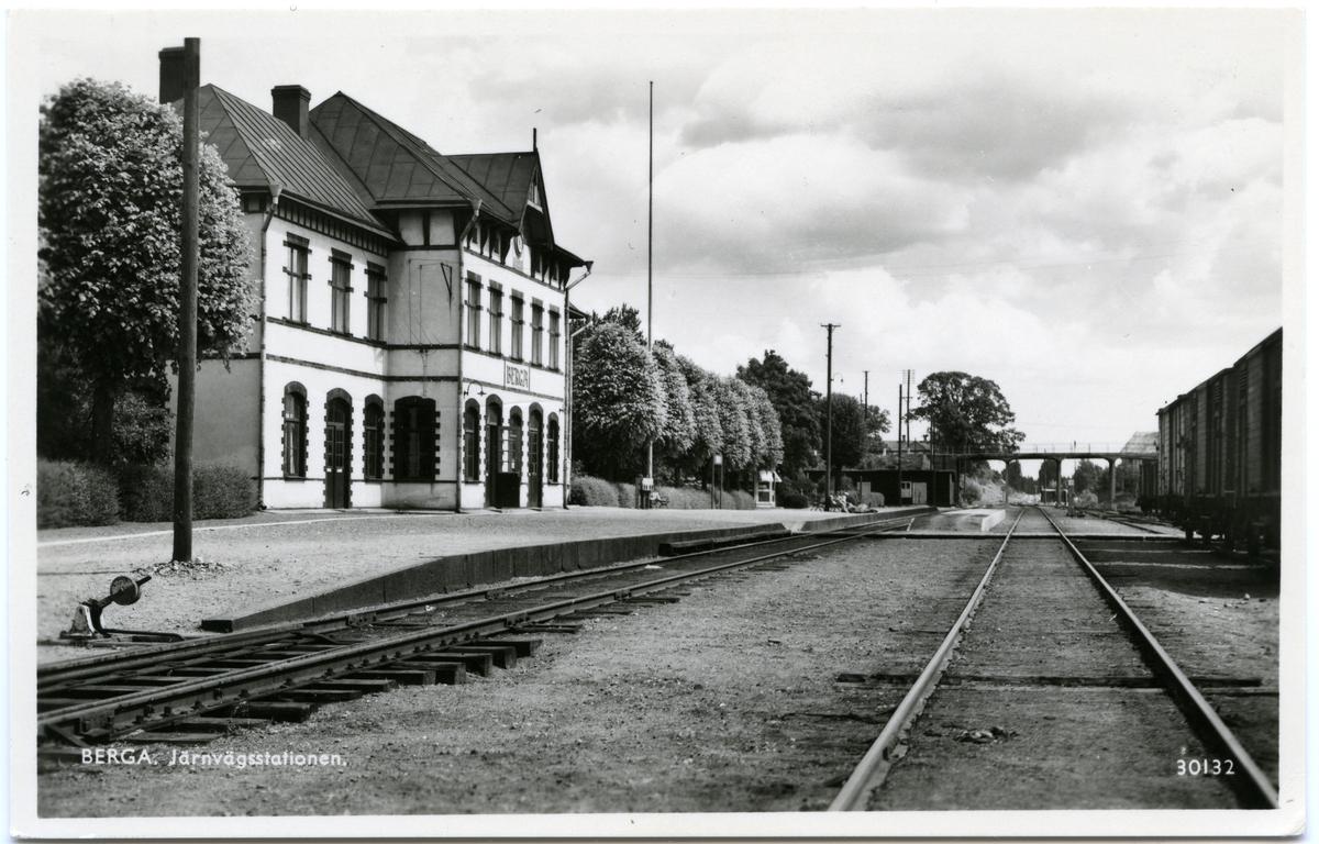 Berga järnvägsstation