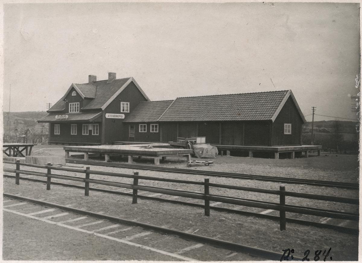 Anneberg stationshus.