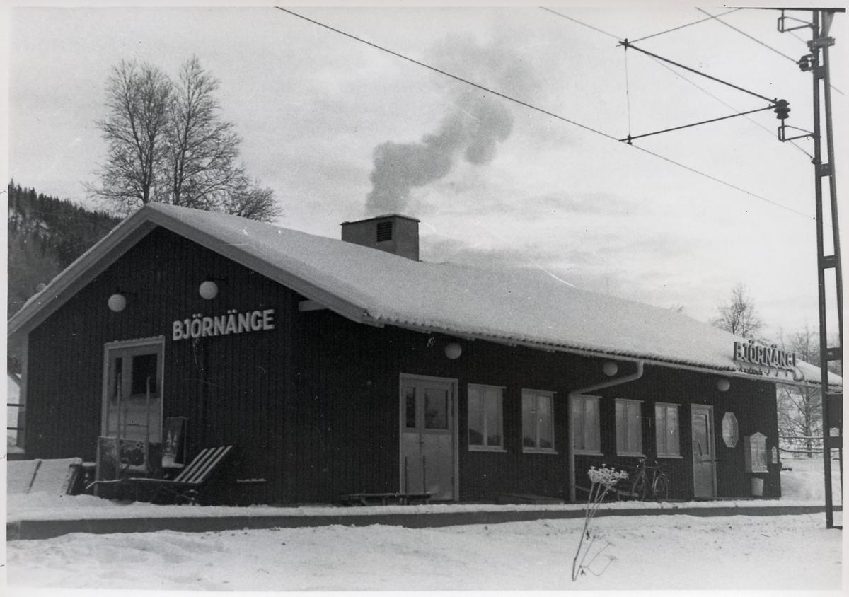 Björnänge stationshus.