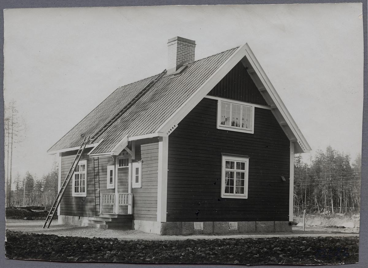 Stationsstuga i Östra Flakaträsk.