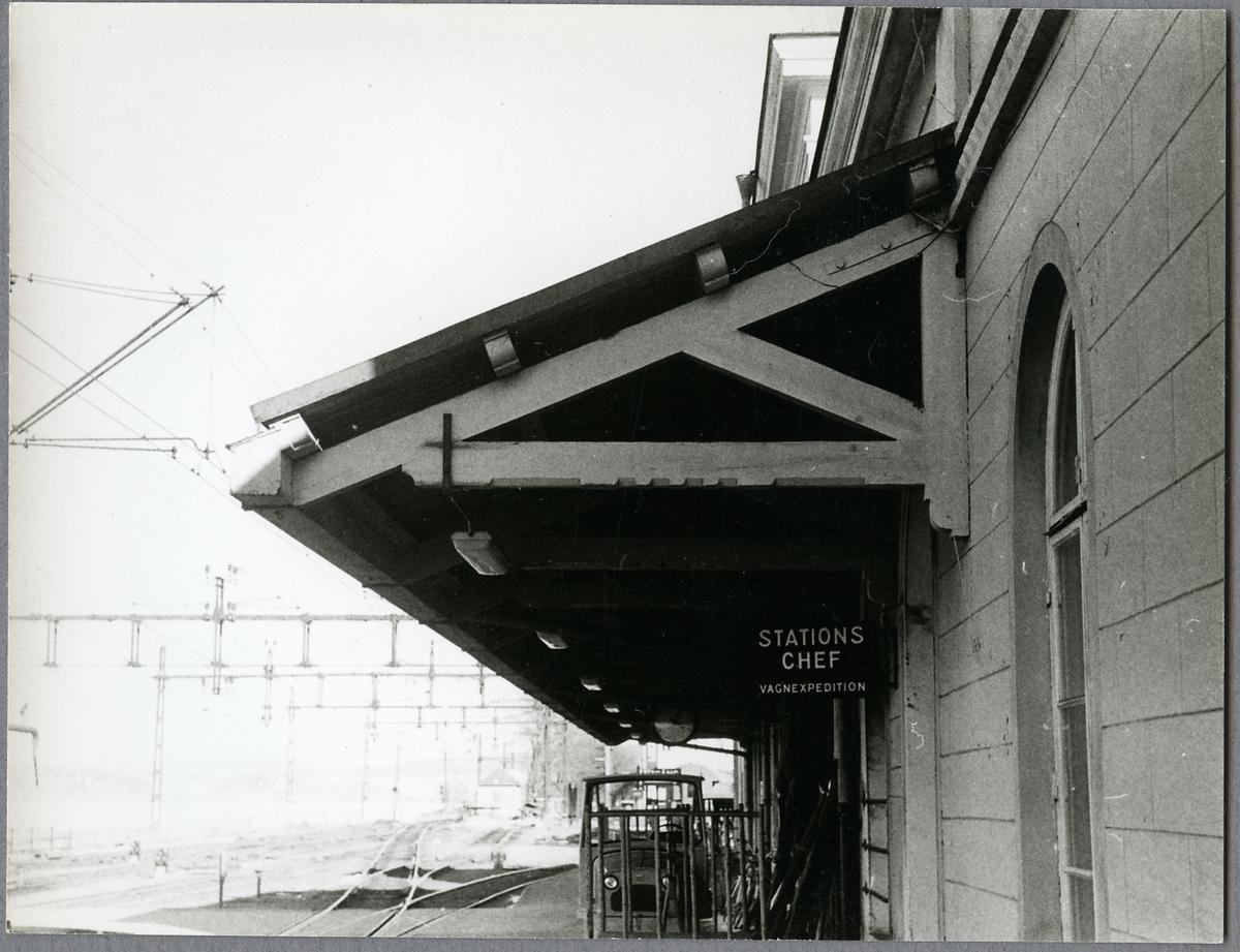 Plattformstak på Jönköping Central.