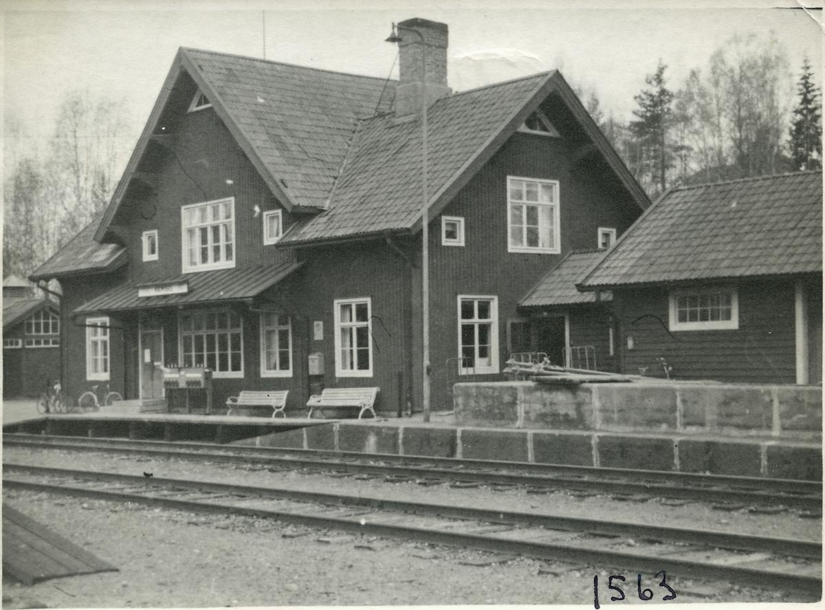 Stationshuset i Niemisel.