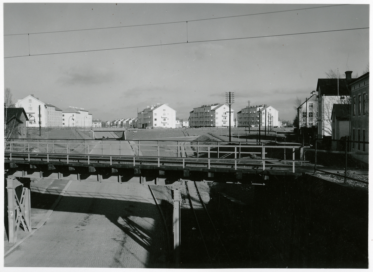 Järnvägsbro över Strandbodgatan, Uppsala.