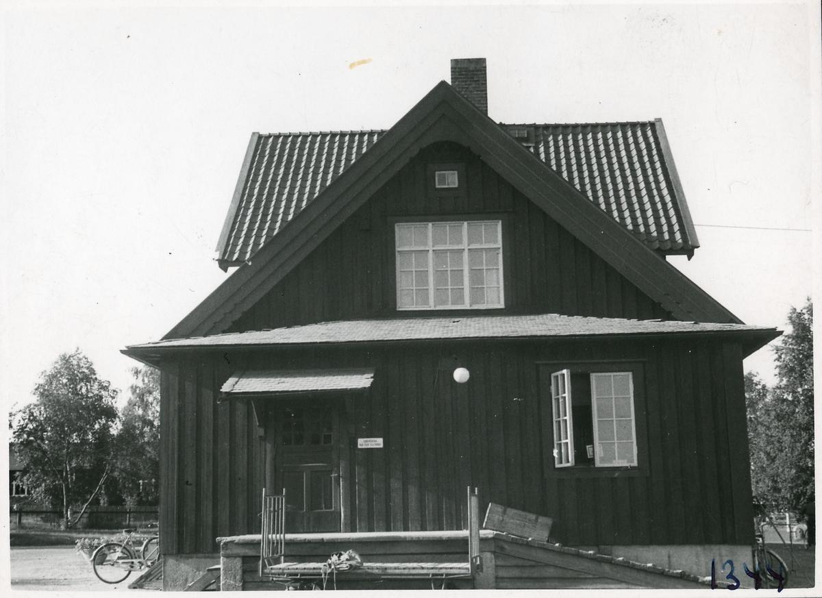 Övertorneå stationshus.