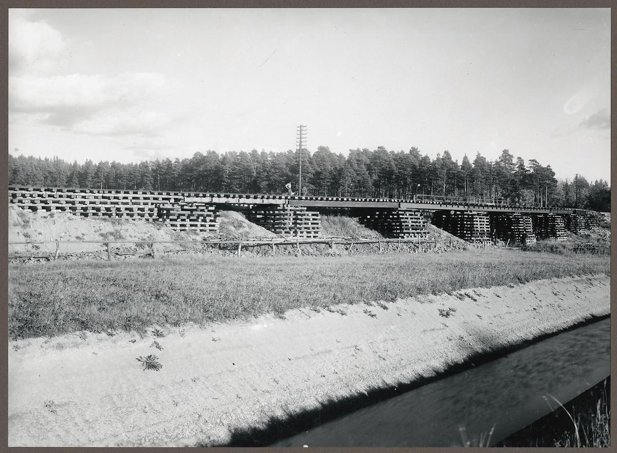 Vägport för Stenkvistavägen i Eskilstuna.