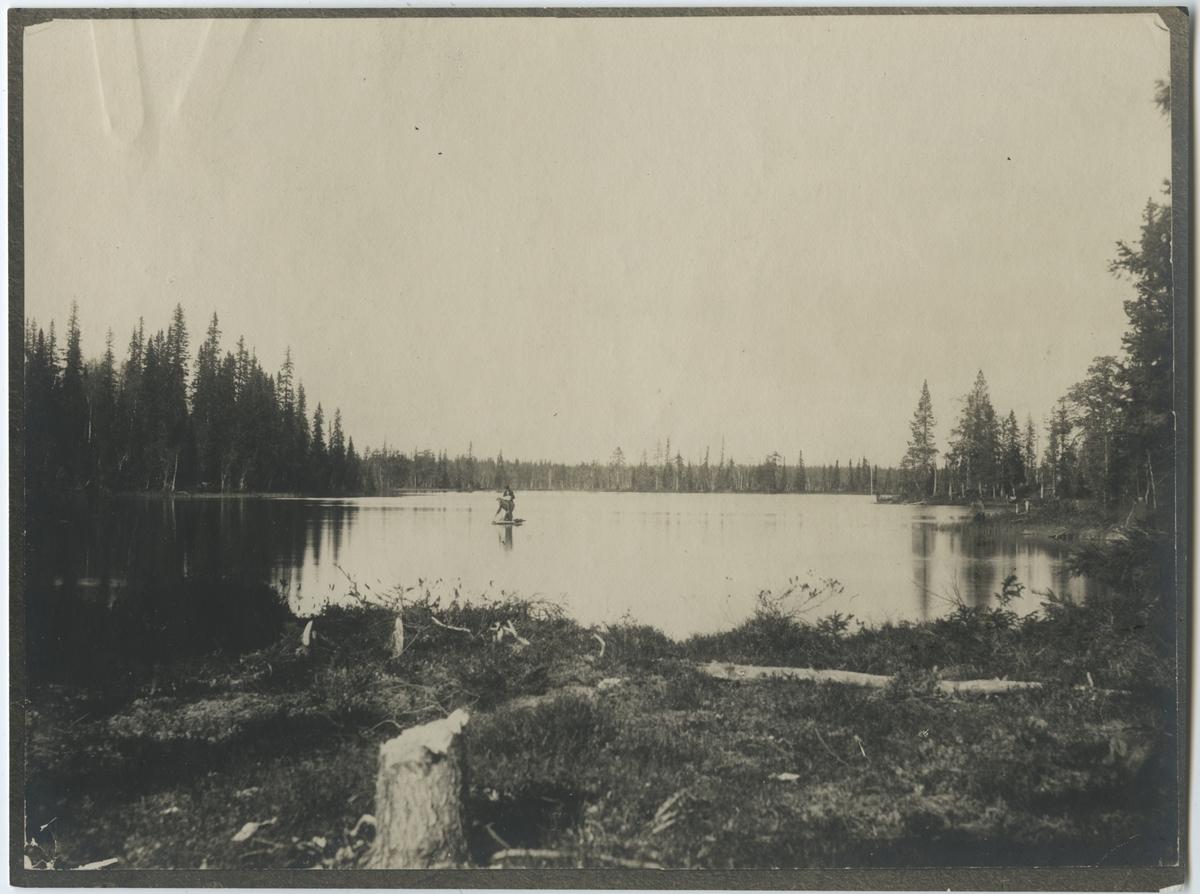 Koskivara - Haukanjärvi under engelsmännenstid