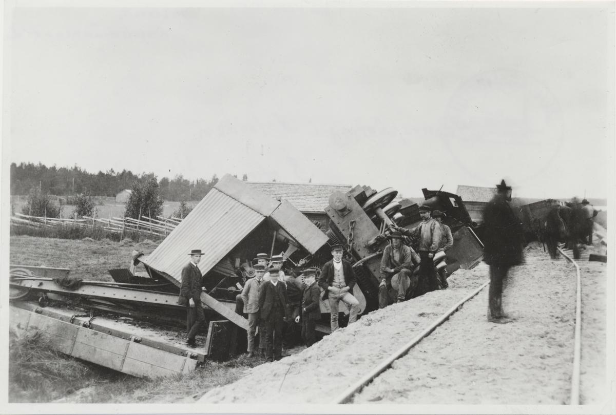 Tåg urspårning i Notviken