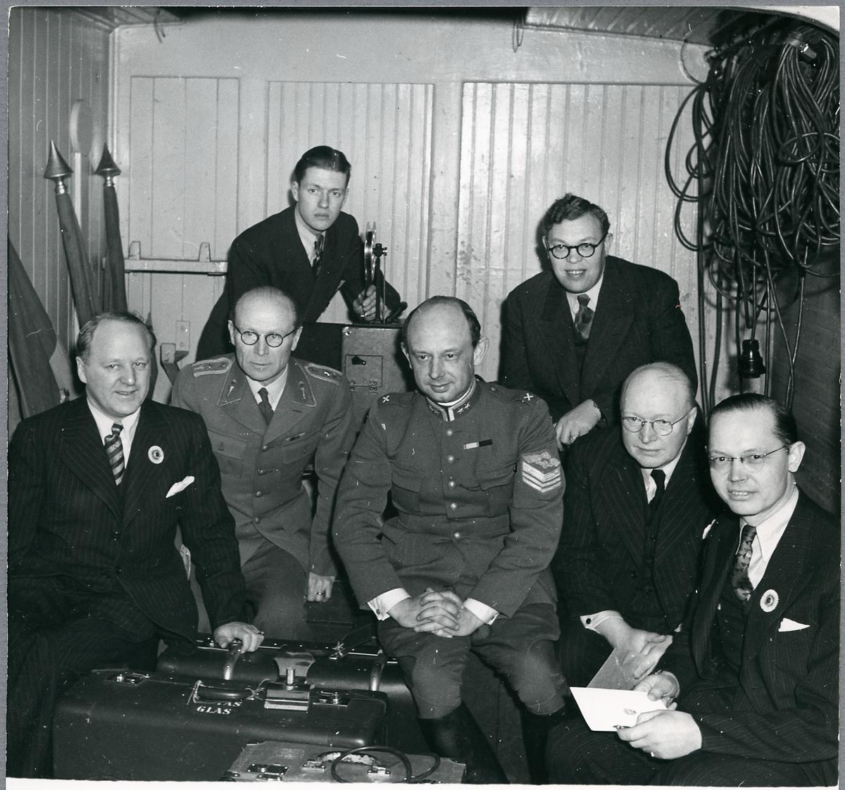 Från invigningen av elektrifieringen Långsele - Boden.