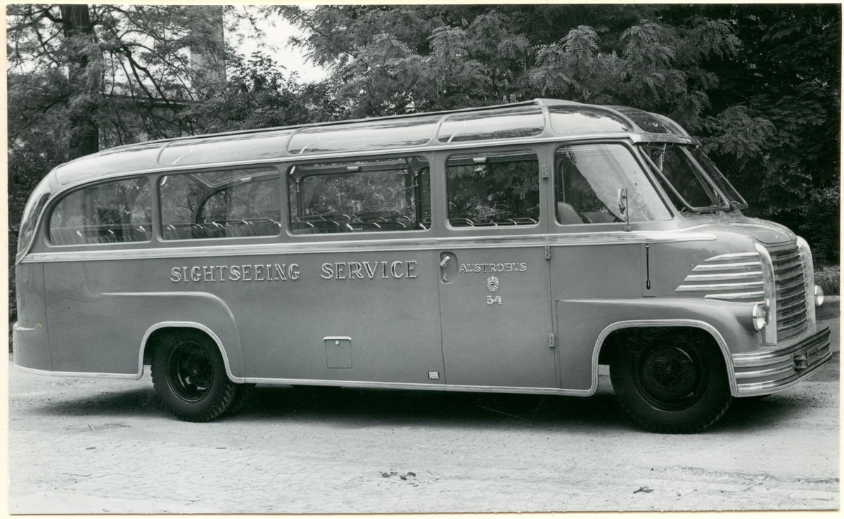 Österikiskt bussbolag, Austrobus 54.