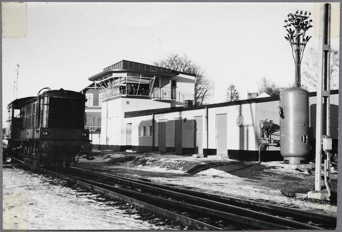 Rangertornet på rangerbangården i Gävle.
