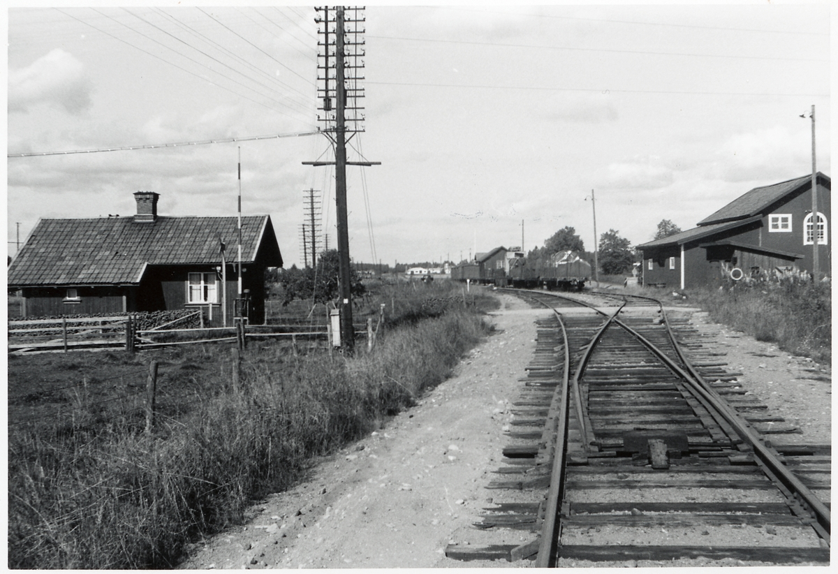 Hedesunda banvaktstuga, vid infarten till Hedesunda station.