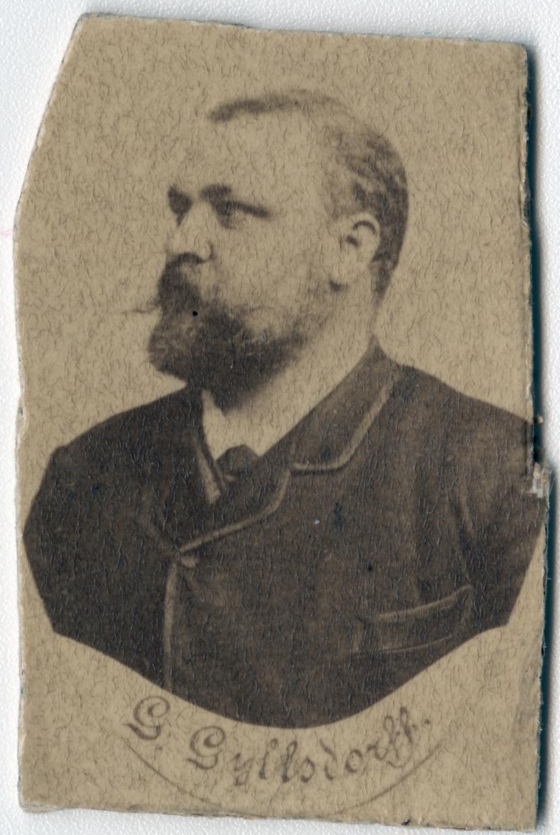 Stationsinspektor J. Gottfrid A. Gyllsdorff.