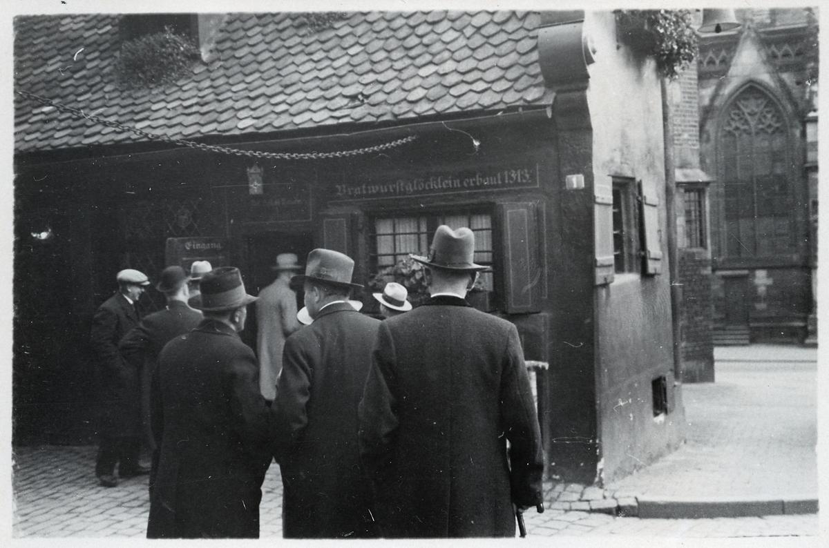 Bratwurstglöcklein i Nürnberg.