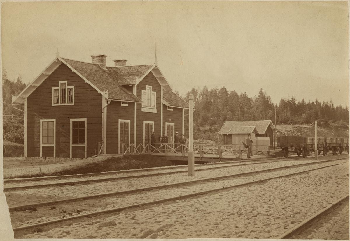 Rällså stationhus.