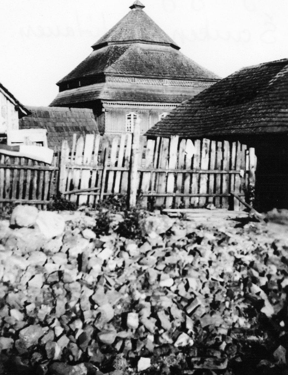 Synagogen i Saukenai, Litauen 1938