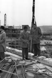 Pressvisning av nya byggnader vid Vivstavarvsfabriken.