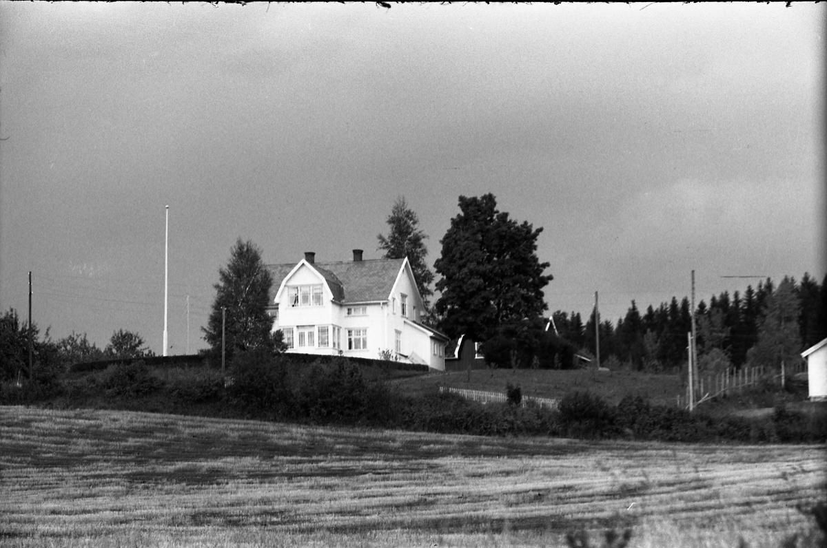 Kronberg Østre (Doktorenga) på Kapp, Østre Toten. Tre bilder.
