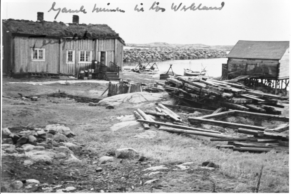 "Rorbua ""Templet"" der losen bodde, Husøya, Halten, Frøya."