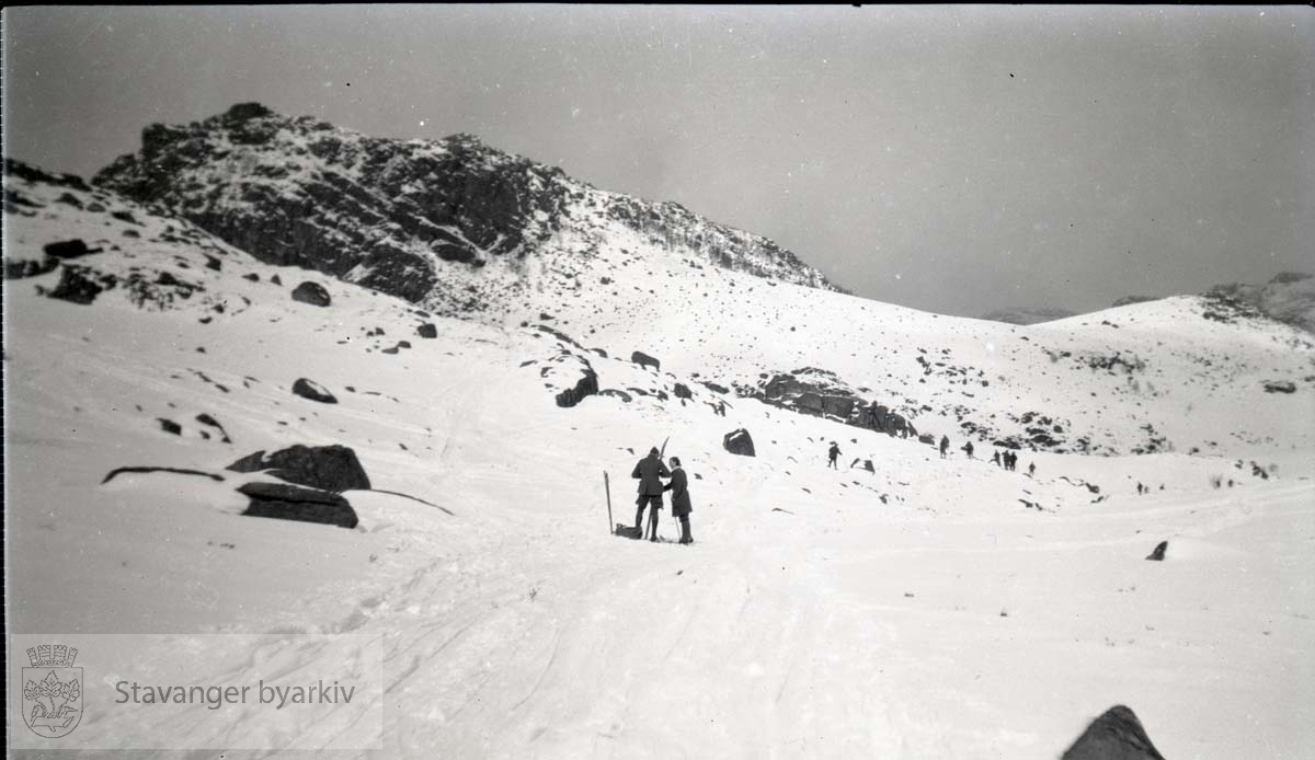 Skitur i fjellet