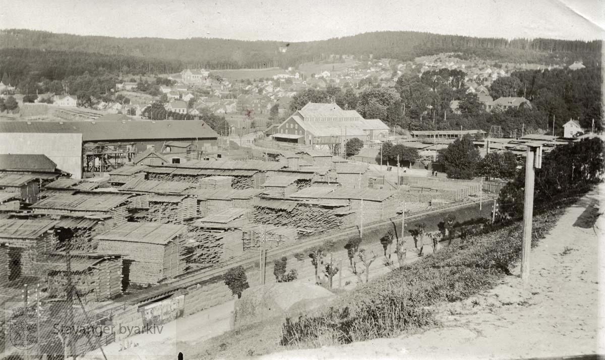 Trelastlager i Larvik