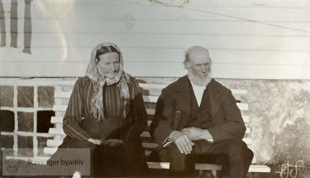 Ommund Teglem og frue
