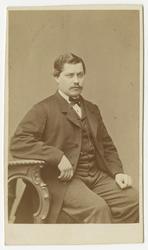 Porträtt av C. Smidt.