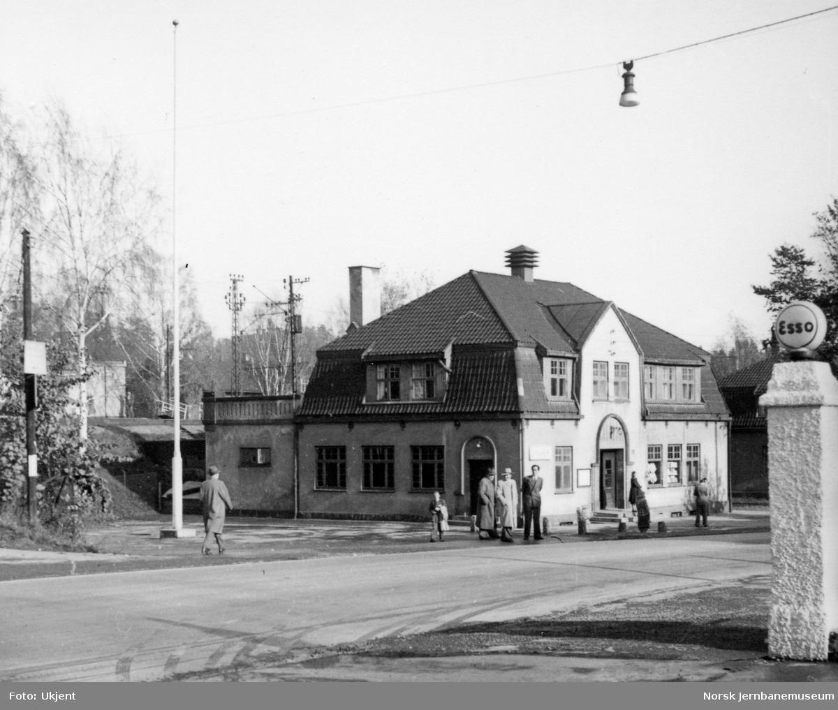 Lysaker stasjon.