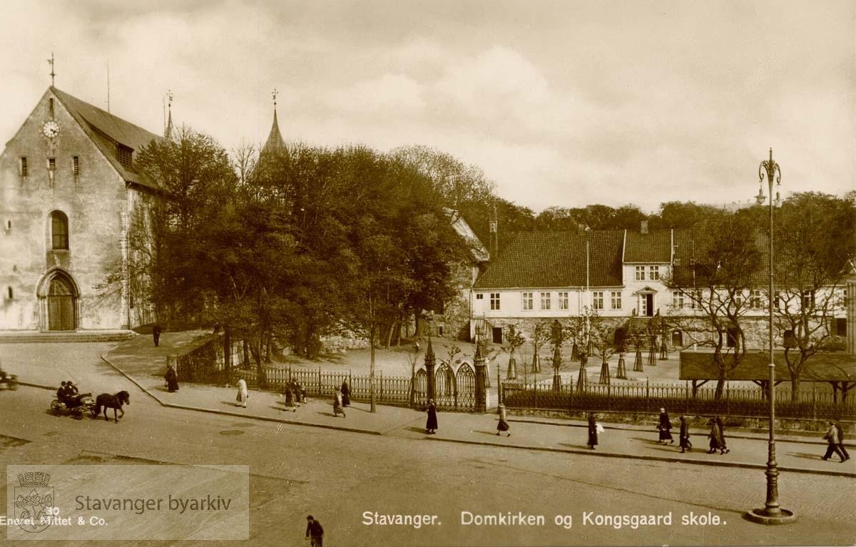 Domkirken og Kongsgård..