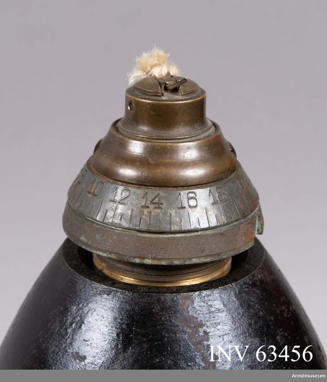 Grupp F II. Lätt dubbelrör m/1885. Till 12 cm granatkartesch m/1887 till framladdningskanon m/1870.