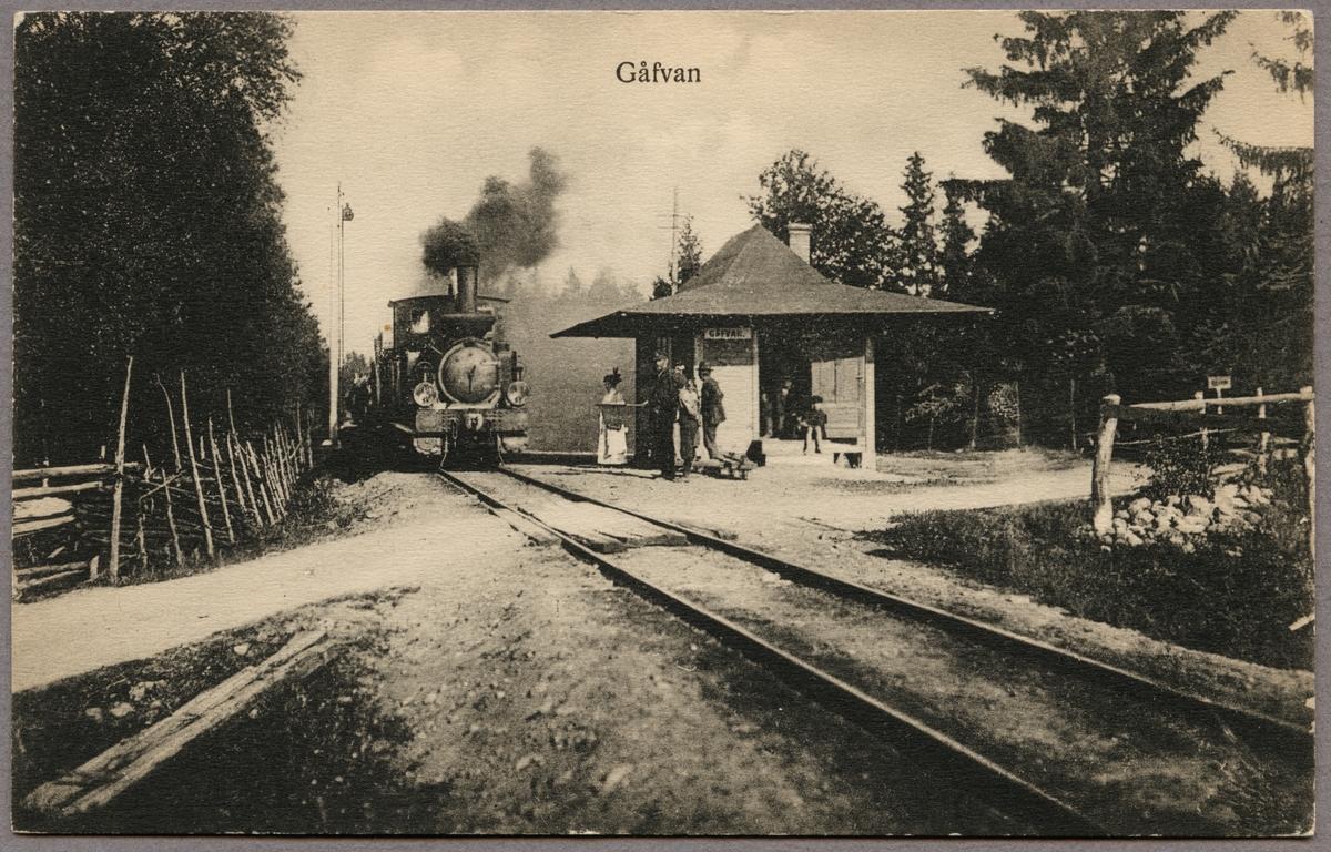 Gåvan station.
