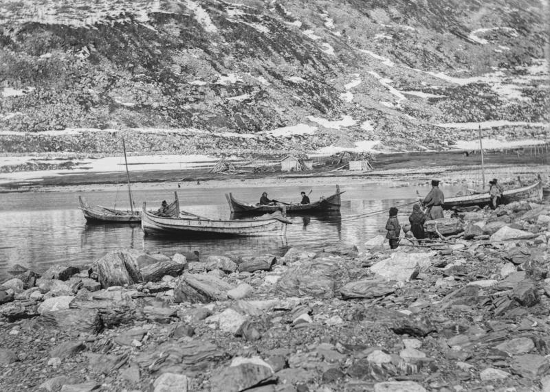 Sjøsamer på fiske