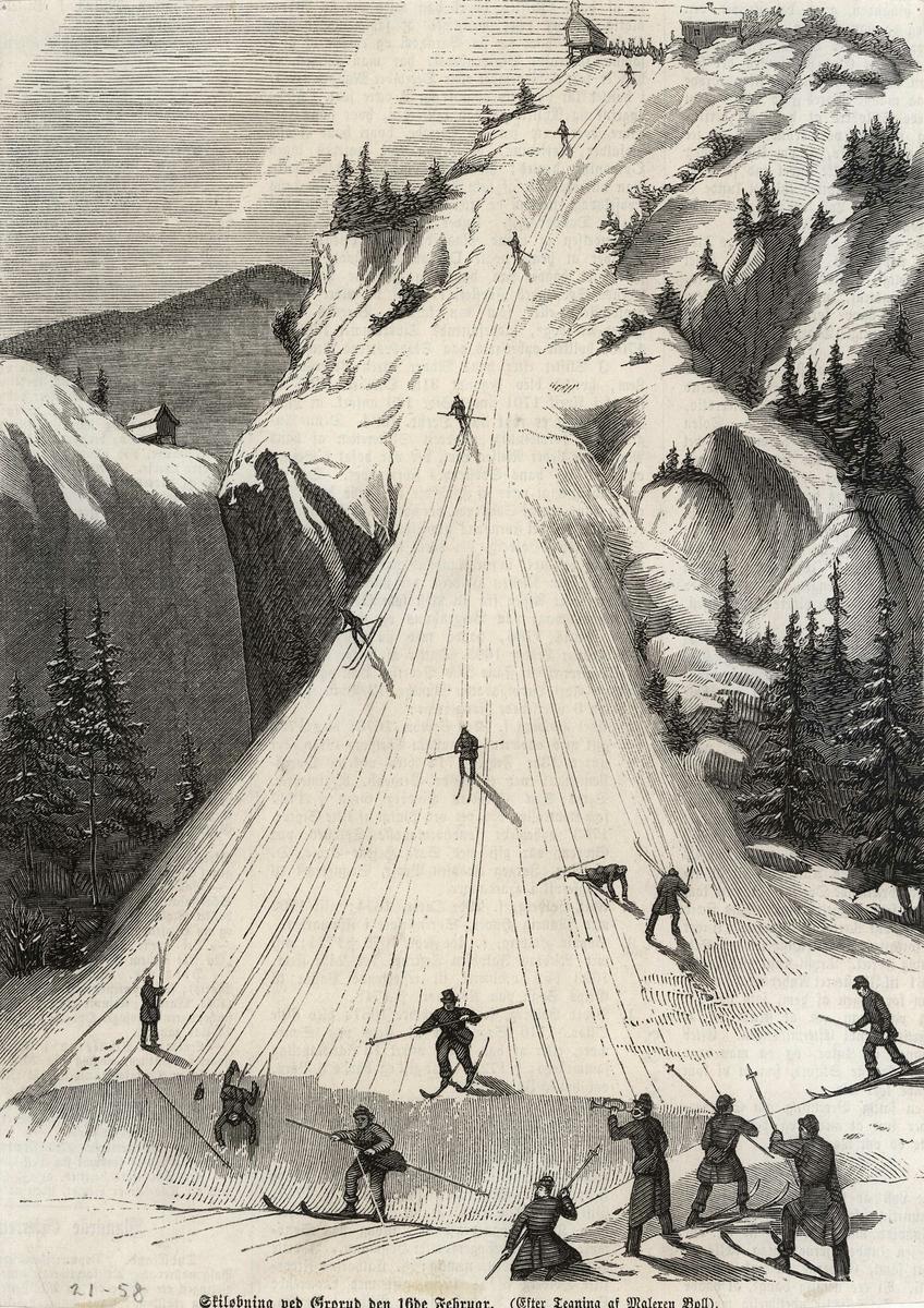 skiløp, sport, fritid