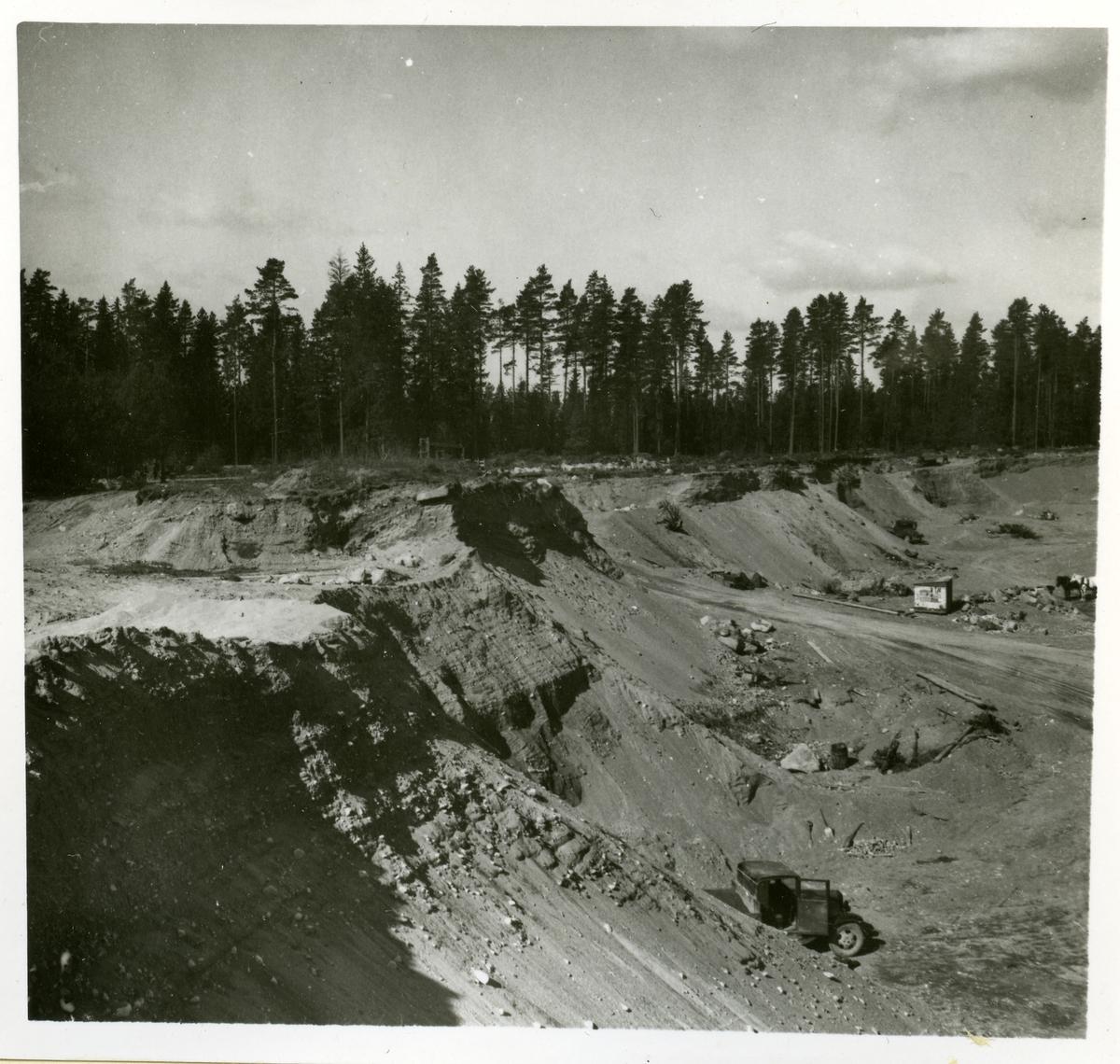 Hubbo sn, Alvesta. Alvesta 3:1, grustaget. 1938.  (I samband med skadat fornminne).