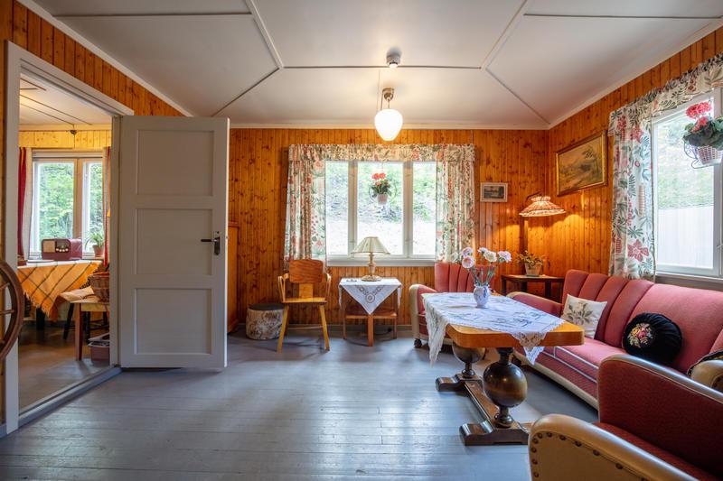 Stua i bolighuset fra Olderfjord
