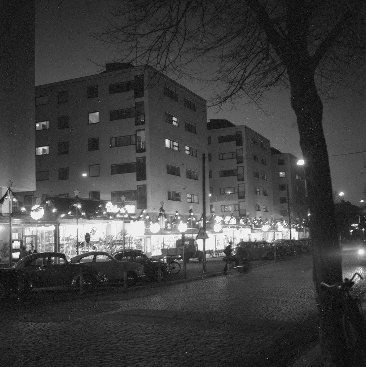 Julsidan, Södercity. 6 december 1958.