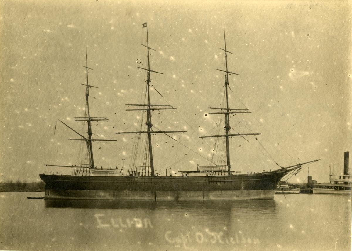 Fullrigger 'Ellida' (ex Alice)(b.1877, F. H. v. Lindern, Ablasserdam, Holland)