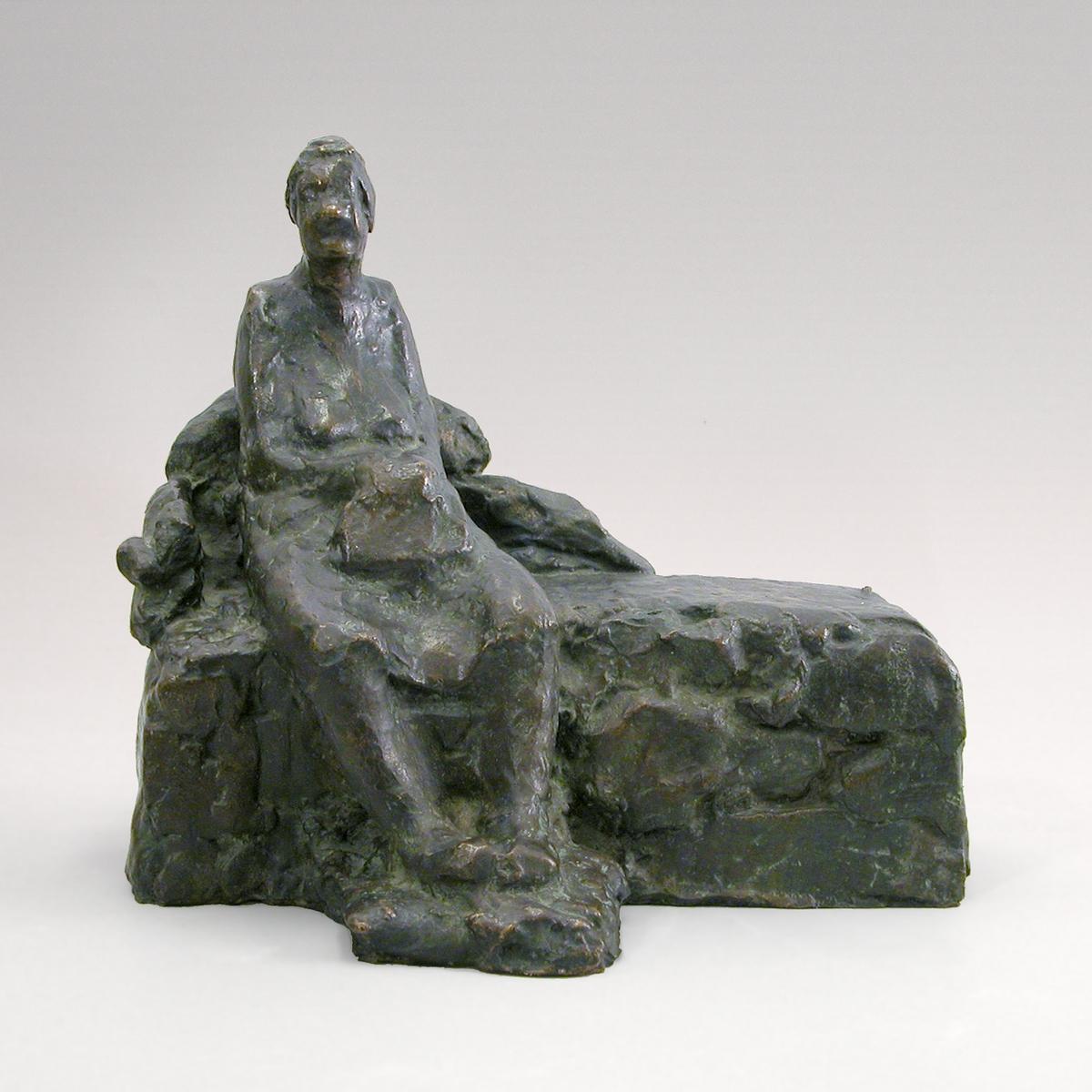 Ensom I [Skulptur]