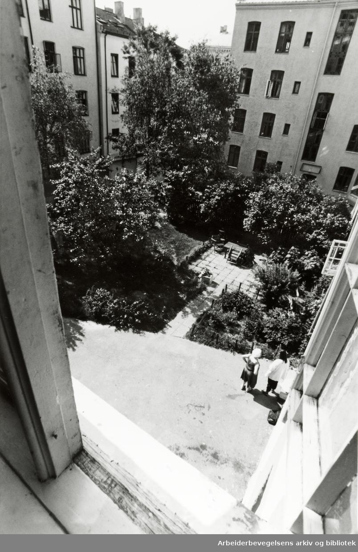 Jens Bjelkes gate. 19. juli 1994