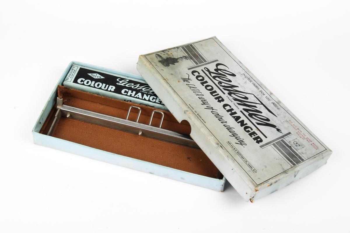 Fargebåndbytter med fargebåndstriper i original eske.