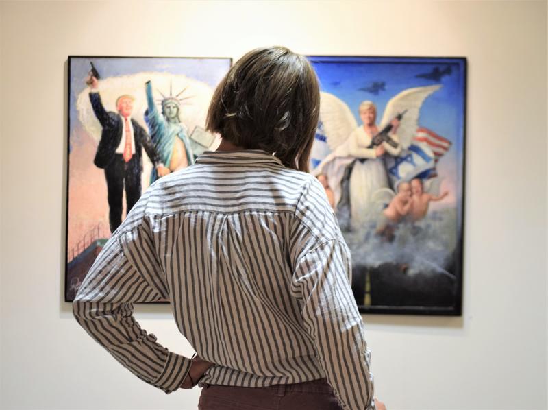 Exhibition at the Norwegian Cartoonist Gallery (Foto/Photo)