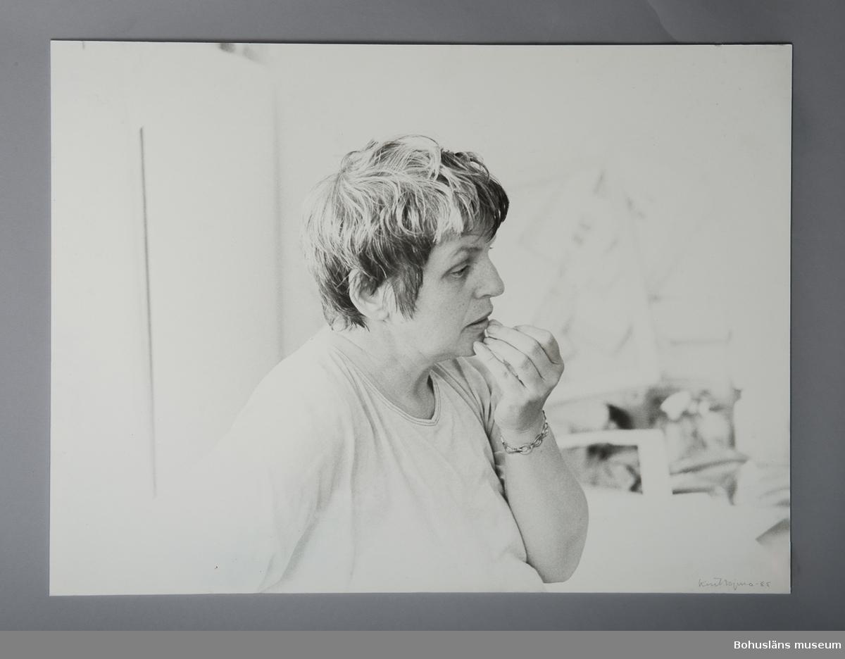 Fotografiskt porträtt Anna Rube (1932 - 2008)