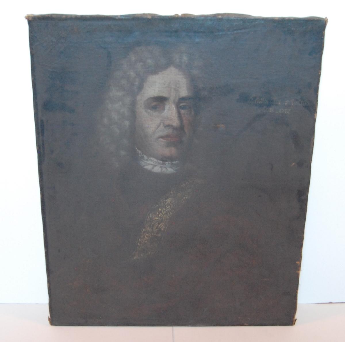 Portrett av Jan Wessel, far til Peder Wessel Tordenskiold (?).