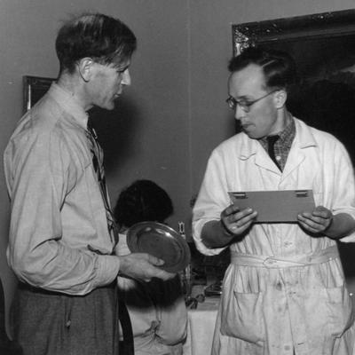 Kjellberg og Berg 1950 (Foto/Photo)