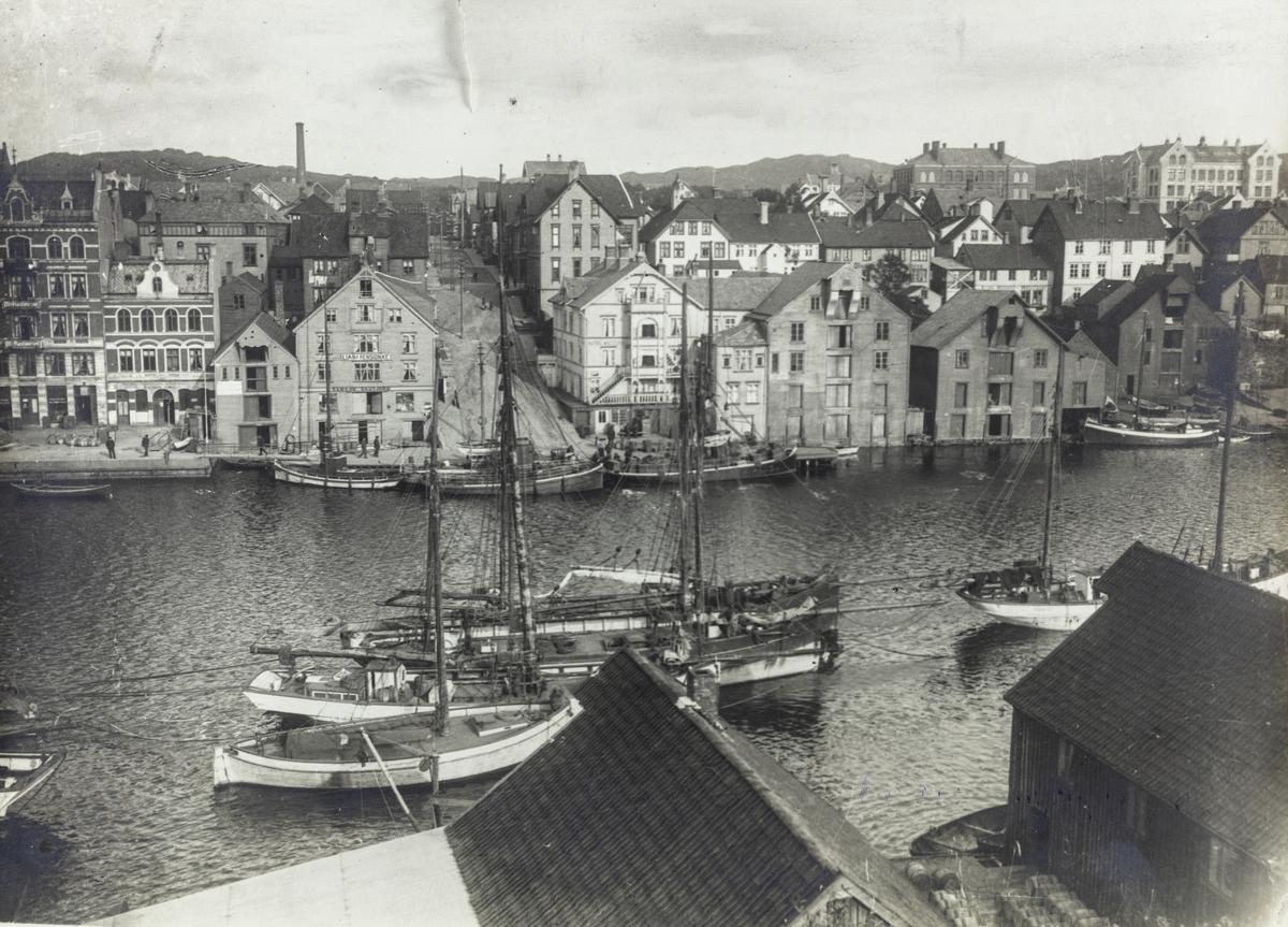 Smedasundet sett mot øst, 1910.
