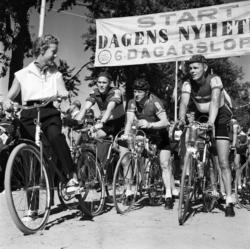 Starten för Dagens Nyheters sexdagarslopp på cykel går på Fl