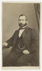 Porträtt av Adolf Fredrik Olsson, auditör vid Andra livgrena